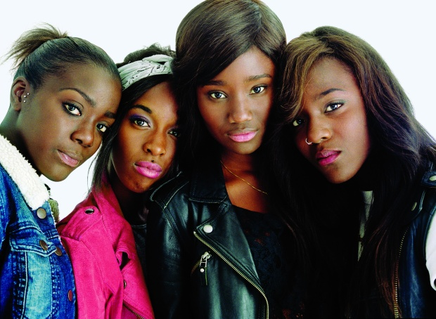 Bande de filles  (Foto película) 5444
