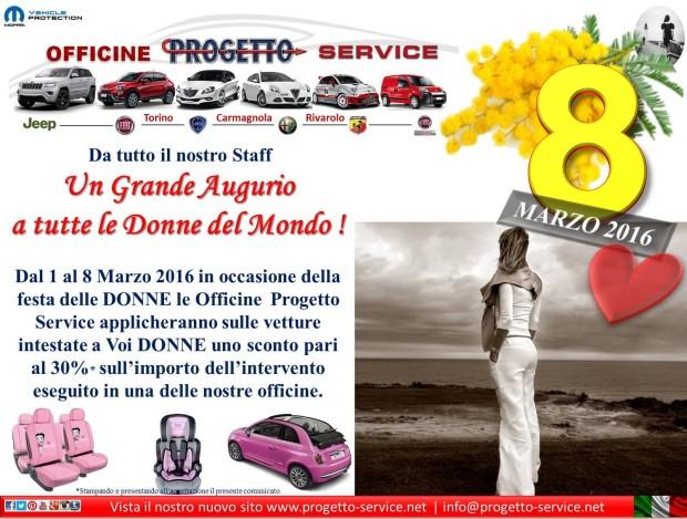 8 marzo coche rosa