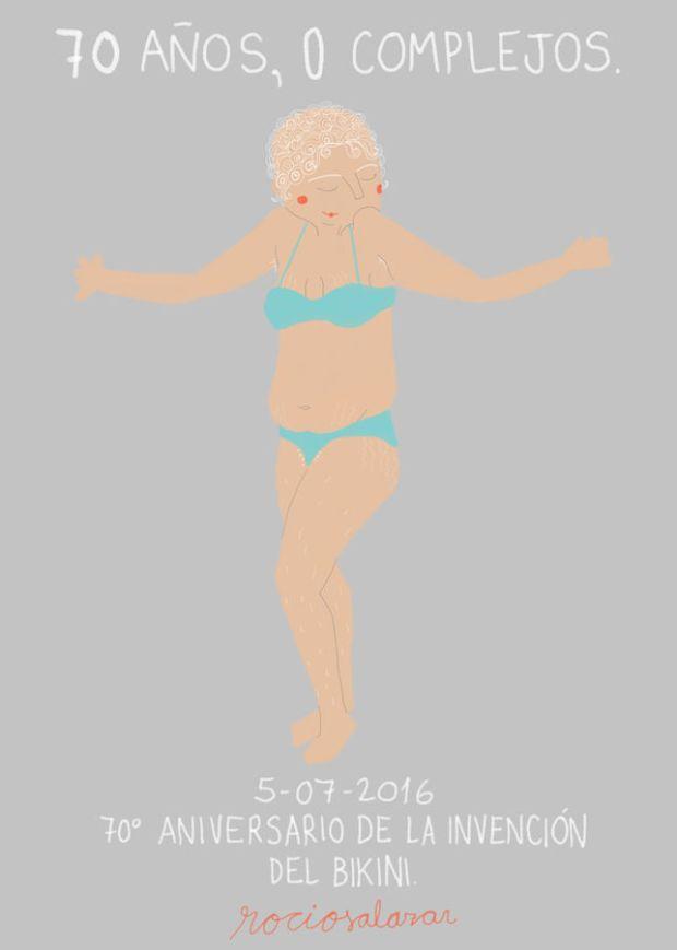 Bikini. Rocío Salazar