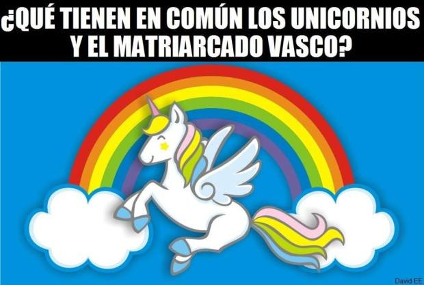 Unicornio, matriarcado vasco