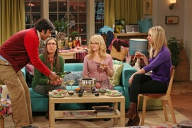 """""""The Contractual Obligation Implementation"""" -- Koothrappali (Kunal Nayyar, left) plans a date with Lucy, on THE BIG BANG THEORY, Thursday, March 7 (8:00 – 8:31 PM, ET/PT) on the CBS Television Network. Photo: Michael Yarish/Warner Bros. ©2013 Warner Bros. Television. All Rights Reserved."""
